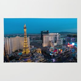 Vegas Strip - Paris Rug