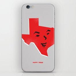 Happy Texas iPhone Skin