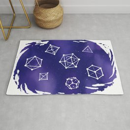 Polyhedral Constellations Rug
