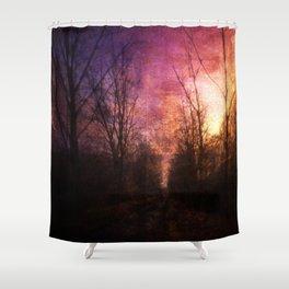Eternal Enigma Shower Curtain