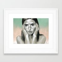miami Framed Art Prints featuring Miami by Sherie Myers