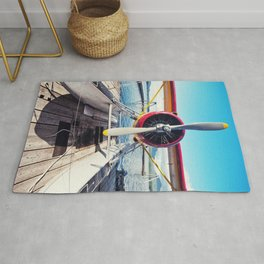 Alaskan Float Plane Rug