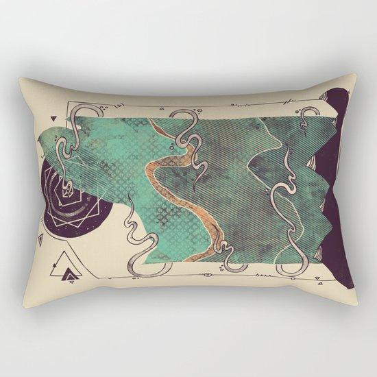 Northern Nightsky Rectangular Pillow