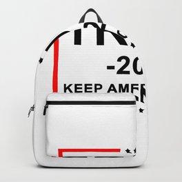 Donald Trump Keep America Great Backpack