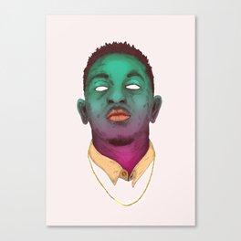 KENDRICK LAMAR--Pop Art Canvas Print