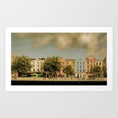 Dublin by Day Art Print