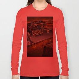 Vintage Writers Corner Long Sleeve T-shirt