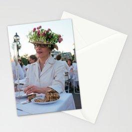 Parisian Mugshots - Public Garden (Gueules de Parisiens) Stationery Cards