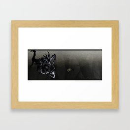 Late Night Snack Framed Art Print