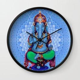 Hyperspace Shakti Ganesha Wall Clock