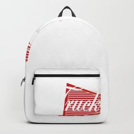 Truck Driver King of Trades Trucking Backpack