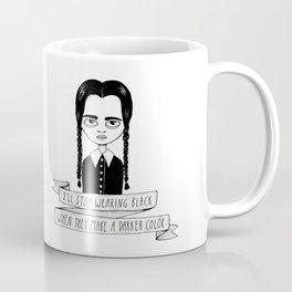 Wednesday Addams Coffee Mug