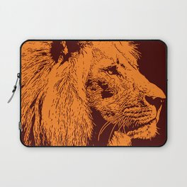 Lion, King of Nature Laptop Sleeve