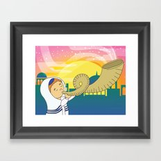 Shofar Framed Art Print