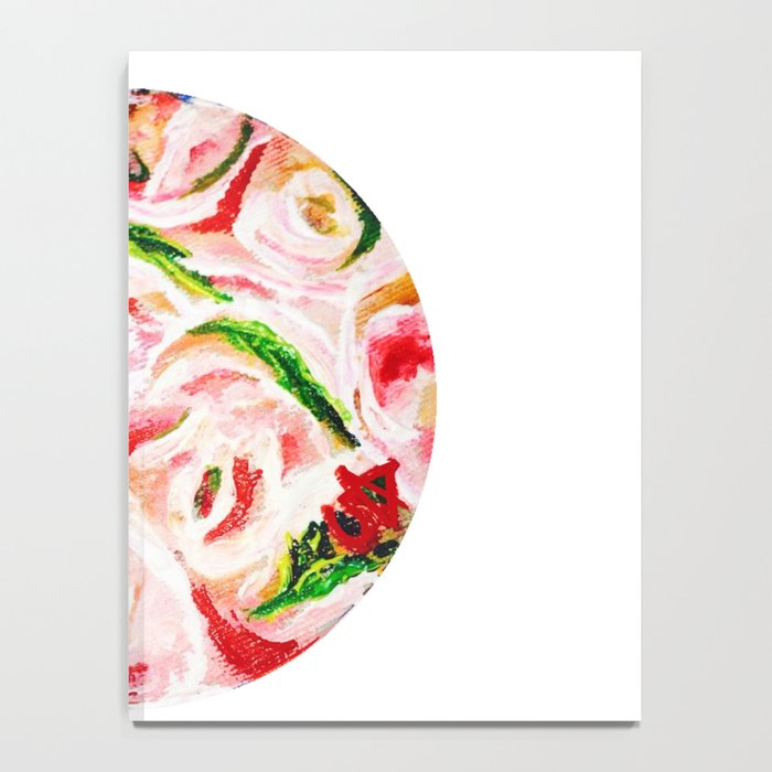 Roses Are Pink Notebook