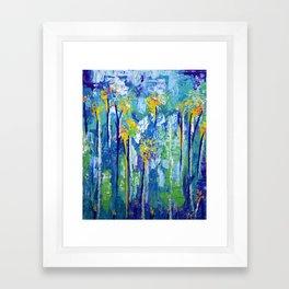 Tall Pollen Framed Art Print