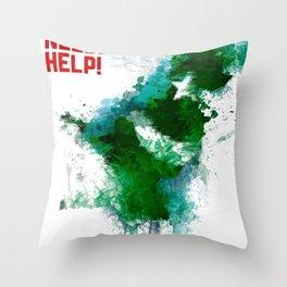 PK Flooding Throw Pillow