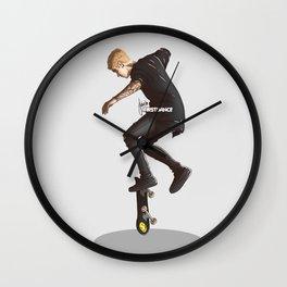 Skater Boy Wall Clock