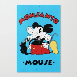 Monsanto Mouse Canvas Print