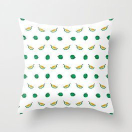 Durian - Singapore Tropical Fruits Series Throw Pillow