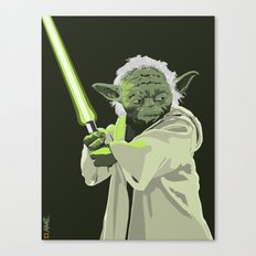 Yoda of Star Wars Canvas Print