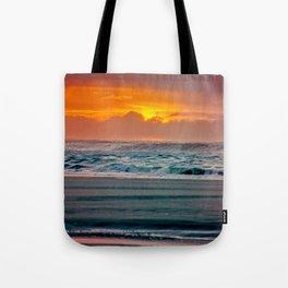 Ocean Sunset - Pacific Coast Highway 101 Tote Bag