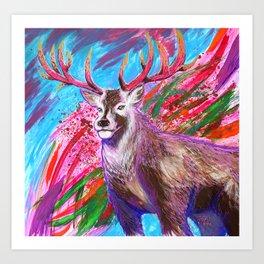 Call Of The Majestic Wild Art Print