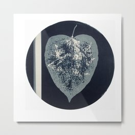 HERBARIUM. FORGOTTEN LEAVES. #13 Metal Print