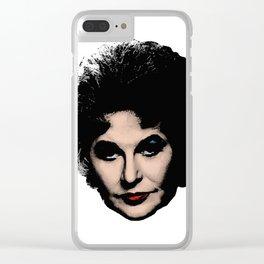 Bea Arthur - Pop Art style Clear iPhone Case