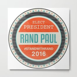 Vote Rand Paul 2016 Metal Print