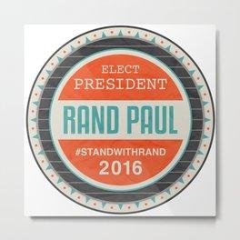 Vote Rand Paul 2016 Metal Print
