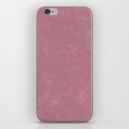 Pink textured background iPhone Skin