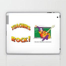 TEACHERS ROCK Side by Side Laptop & iPad Skin
