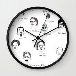 Serial Killers USA, Parts 1&2 Wall Clock
