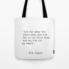 William Butler Yeats 3 Tote Bag