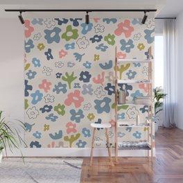 FLOWER FIELDS Wall Mural