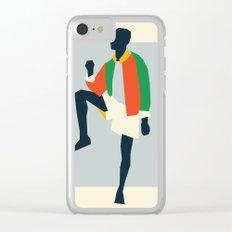 Fashion Dance 1 Clear iPhone Case