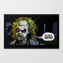 Qualified? Canvas Print