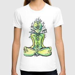 Zero, the Alien Yogi T-shirt