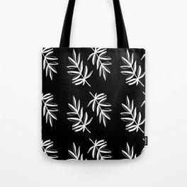 White Laurels Tote Bag