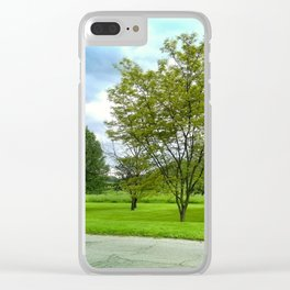 Some Trees Clear iPhone Case
