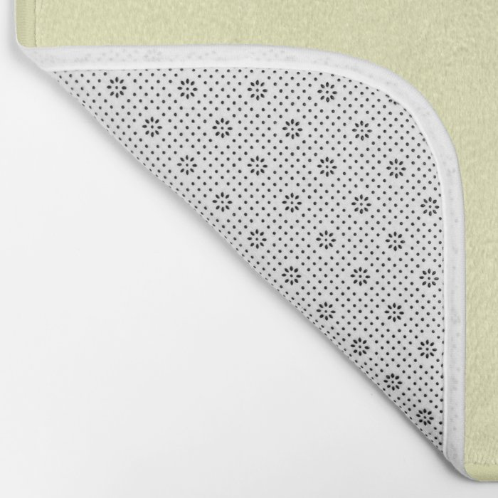 Simply Pale Yellow Bath Mat