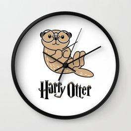 Funny Harry Otter Wall Clock