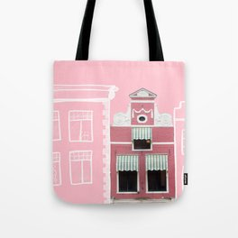 Dutch house from 1669 Tote Bag