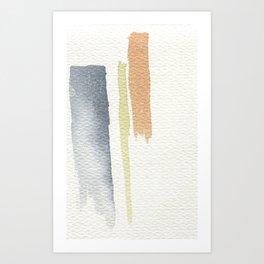 tri-color Art Print
