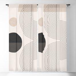 Geometric Shapes 54 Blackout Curtain