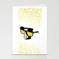marx Stationery Cards featuring Groucho Marx by Michelle Eatough