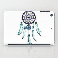 dreamcatcher iPad Cases featuring Dreamcatcher by Monika Strigel