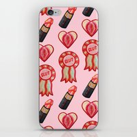 feminist iPhone & iPod Skins featuring Feminist by King Sophie's World