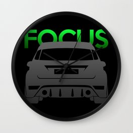 Ford Focus RS Wall Clock